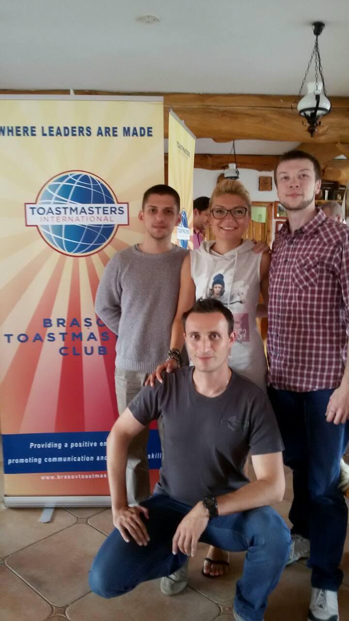 La bootcamp Toastmasters